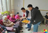 学生慰问暖人心 养老院内显温情