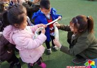 白川社区联合贝贝思幼儿园开展消防宣传进学校活动