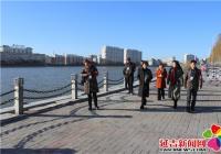 """南阳社区开展冬季河道巡查工作 常态化落实""""河长制"""""""