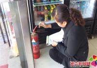 延青社区开展安全隐患排查