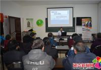 河南街道携手祺林医院开展老年人慢性疾病知识讲座