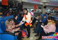 河南街道白玉社区开展全国文明城市宣传活动