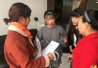 园锦社区开展城乡居民养老保险宣传工作