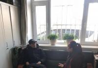 延春社区关爱退休老党员谈心谈话活动