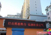 文庆社区开展扫黑除恶专项活动