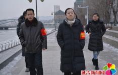 """碧水社区扎实落实""""河长制"""" 日常巡查工作"""