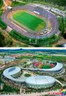 3.延吉人民体育场今昔对比