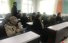民强民警进社区开展防范知识大讲堂