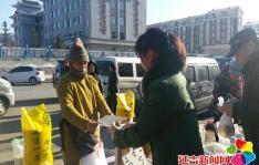 民旺社区开展元旦 节前食品安全宣传活动