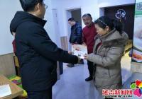丹光社区开展扫黑除恶宣传活动