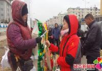 民旺社区开展节前防盗安全知识宣传活动