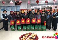 """恒润社区携手邮政银行展开 """"邮政送暖和 爱心献社会""""运动"""