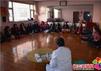 碧水社区开展冬季养生健康知识讲座