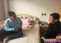 民旺社区春节前走访慰问困难党员