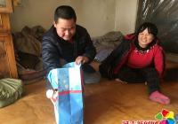 小营镇团委开展春节慰问活动