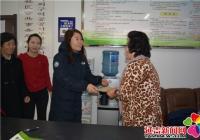 河南街道开展走访慰问计划生育特殊家庭活动