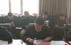 小营镇召开村党组织书记年末述职评议大会