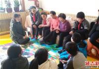民安社区在雷锋月组织学生开展爱心慰问活动