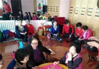 碧水社区老年协会开展庆民族团结一家亲活动