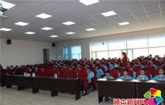 """南阳社区开展""""扫黑除恶进校园""""法治宣传活动"""