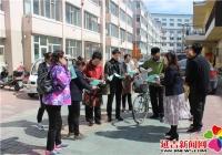 """南阳社区开展""""弘扬文明祭祀、倡导绿色生活""""宣传活动"""