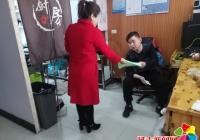 进学街道文庆社区开展扫黑除恶宣传活动