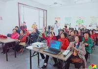 长青社区开展老年人健康知识讲座