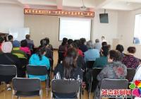 娇阳社区联合市医院开展健康知识讲座