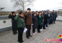教育局党委、东山小学党支部到兴安村 开展主题党日活动