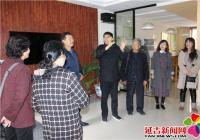 白山市抚松县关工委领导到延吉市老兵之家参观指导工作