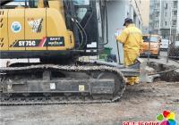 丹岭社区解决居民吃水难问题
