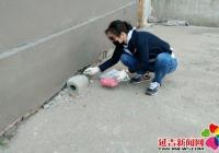 民旺社区开展春季除四害活动