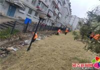 公园街道吹哨 多部门联动解决城市环境卫生难题