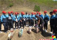 """丹岭社区开展""""爱心助农""""青少年社会实践活动"""