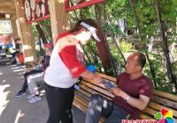 长青社区开展征兵宣传活动
