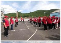 """三道湾镇举行 """"冰凌花""""志愿服务队成立仪式"""