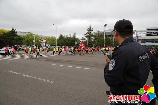 延吉公安圆满完成2019延吉国际马拉松赛事安保任务