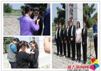 """文庆社区开展""""描红烈士纪念碑 传承红色基因""""主题党日活"""