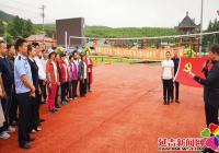 """春阳社区开展""""壮丽山河70年 努力奋斗新时代""""主题党日活"""