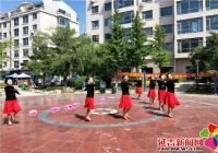 丹明社区开展党群共建红歌演唱会