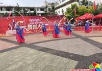 小营镇光进村文艺志愿者舞蹈参加 吉林省第二届中老年电视