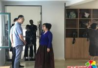 民昌社区迎接上海考察团