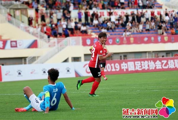 延边北国2:1战胜青岛红狮