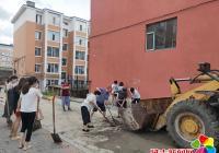 志愿服务来奉献,大家动手助创城
