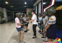 """文新社区""""三点半公益学校""""快乐假期活动"""