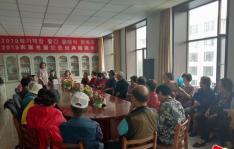 小营镇联合市图书馆到仁坪村 开展农家书屋红色经典朗读会