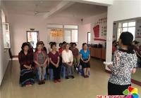 """白菊社区开展""""助力创城志愿者服务培训""""活动"""