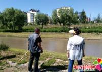 民旺社区积极开展河道巡查工作