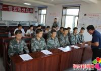 丹英社区走进部队开展 朝鲜语言文字日宣传活动