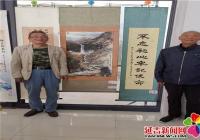 """园辉社区举办"""" """"我和我的祖国""""书画展活动"""